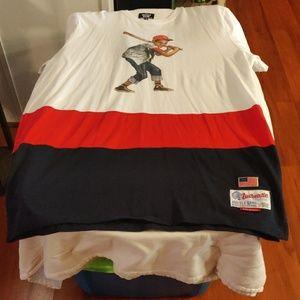 New Never Worn Hustle Gang shirt